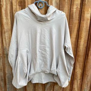 Stella Carakasi Natural Lux pull over hoodie